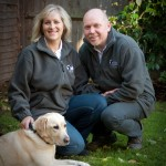 Peter and Julie  Maxted With Lucy