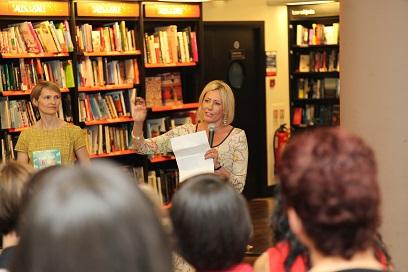 Sarah Wade and Carole Ann Rice talk