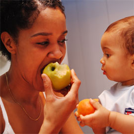 Healthy mum