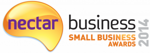 Nectar small biz award logo