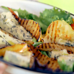 Pear and blue cheese salad 2