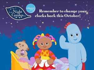 In the Night Garden Clock change campaign