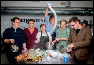 Masterchef v Bake off – the ultimate challenge for charity #foodonfriday #coffeecake