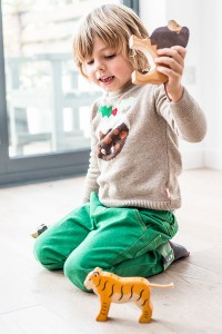 Childrens Christmas Pudding knitwear Jumper for girls or boys