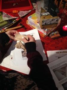 hillarys christmas crafts 1