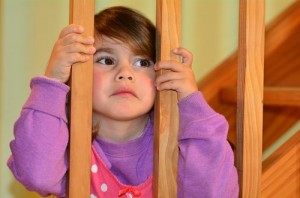 Trapped child