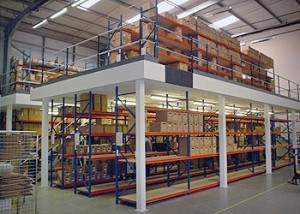 Instantly Double Your Storage Space with Mezzanine Floors
