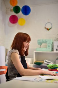Ruth Oliver of The Make Arcade in her studio at Fisherton Mill, Salisbury.