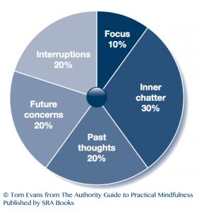 10% efficient pie chart