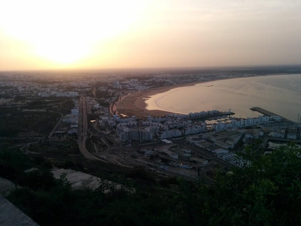 Agadir Sunrise by Omar Amassine, on Flickr
